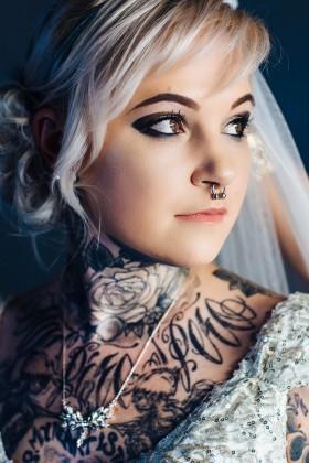 Tattooed Bride Phuket Thailand