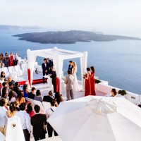 David & Anna wedding photography – Dana Villas Santorini Weddings