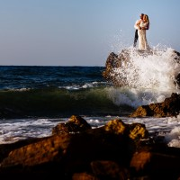 Eva & Foti Destination Wedding Crete, wedding photography Greece