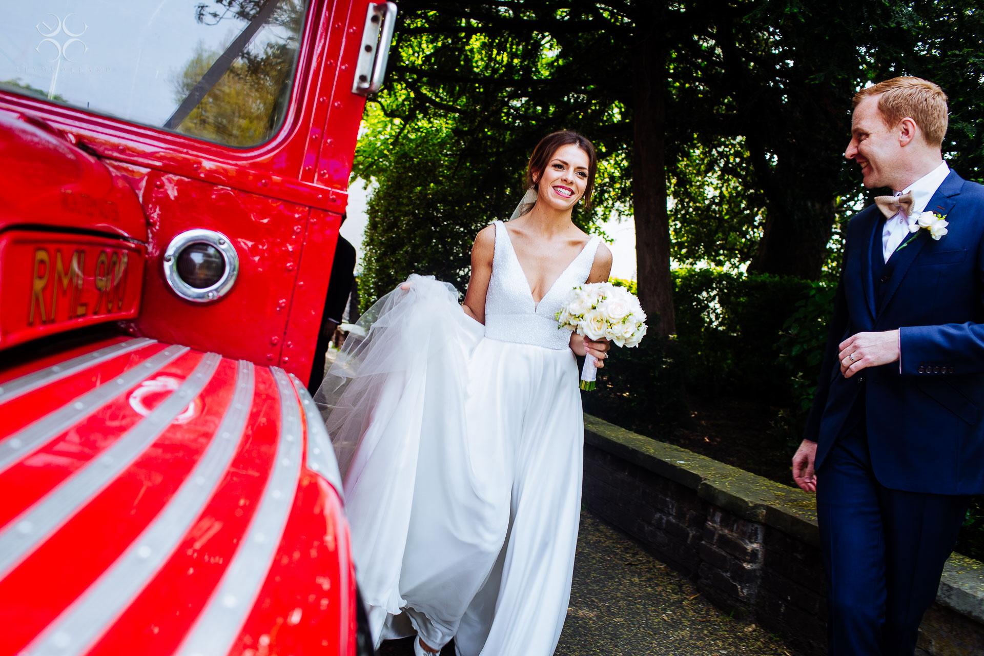 Dulwich Village wedding