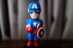 Captain America with Wedding Ring