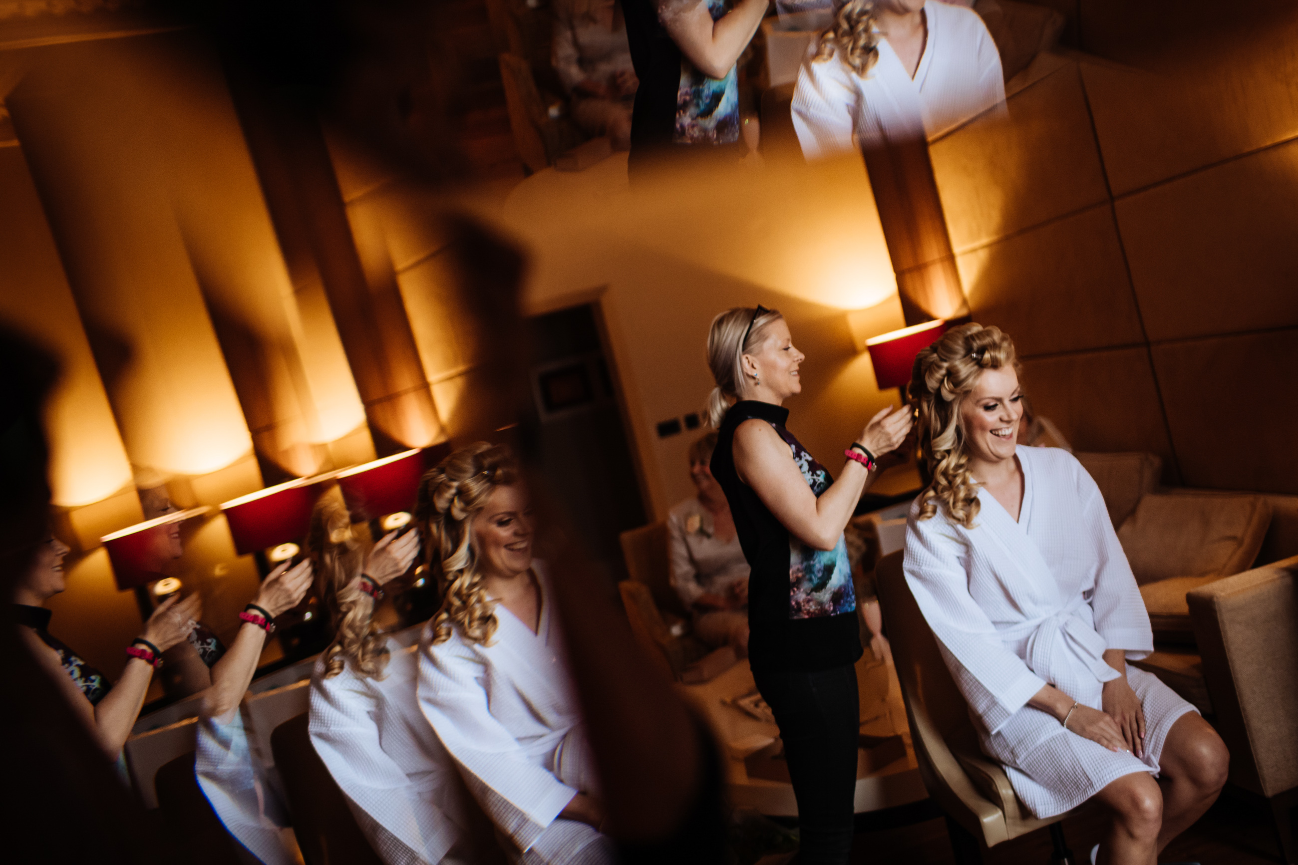 bridal reflections at St Pancras Renaissance hotel