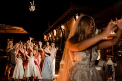 Wedding reception Italy