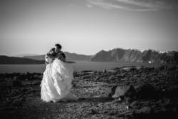 Wedding photo in Santorini