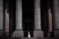royal exchange london wedding photo