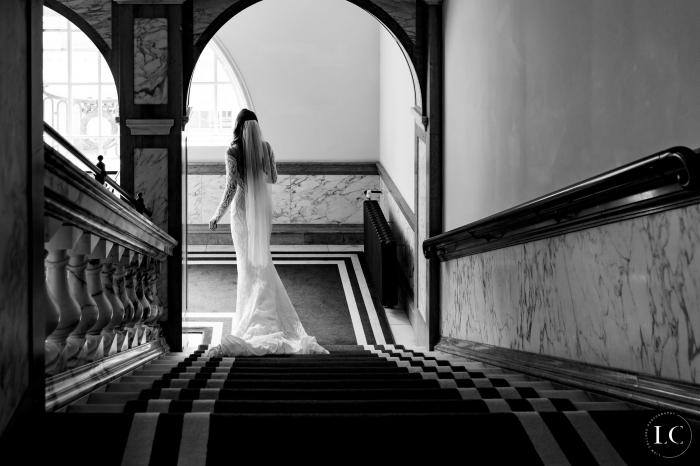 Bride from afar