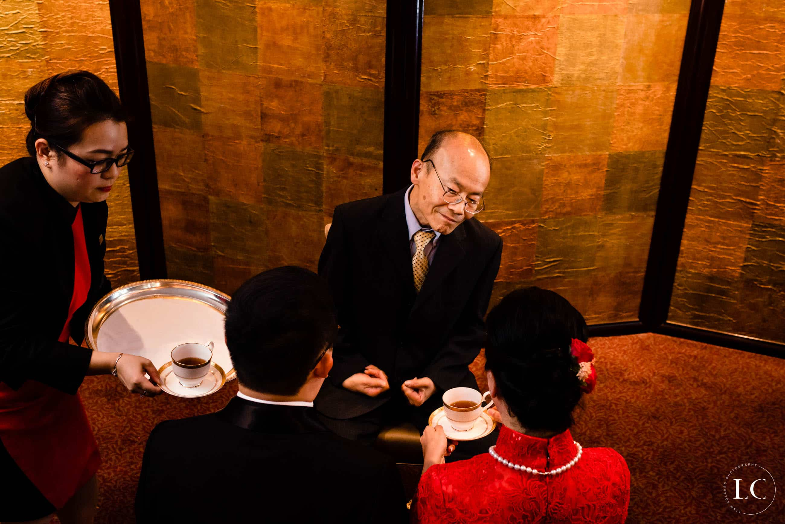 Hong Kong tea ceremony wedding