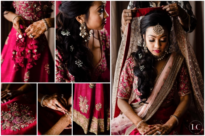 Collage of Indian wedding