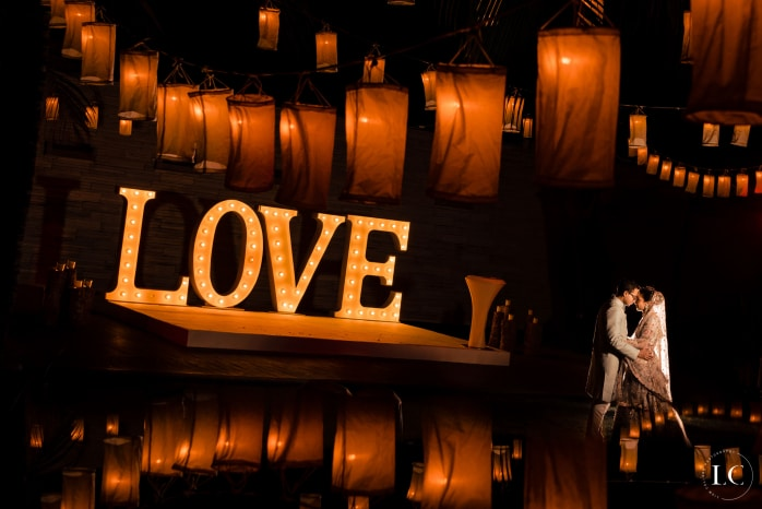 Image of the writing love