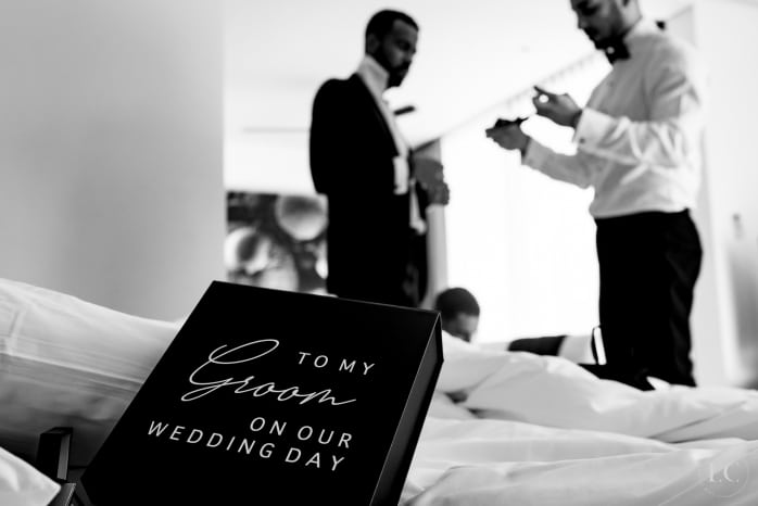 A gift for groom