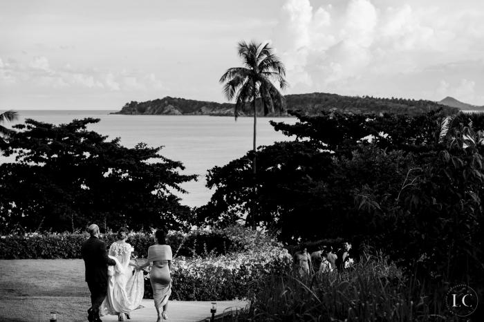 View of wedding venue