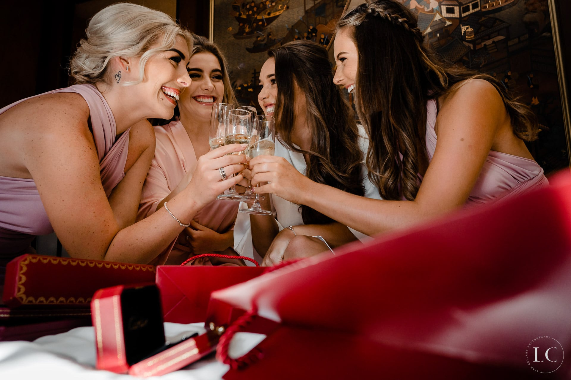 Bridesmaids cheers