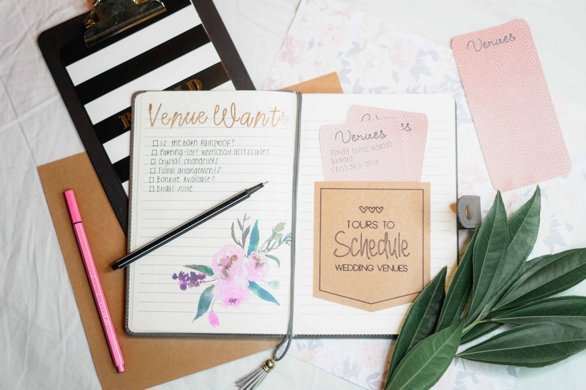 5 Things You Can Do at Home to Keep Your Wedding Planning on Track